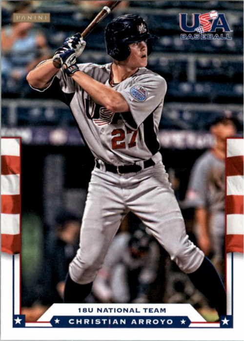 2012 USA Baseball #25 Christian Arroyo