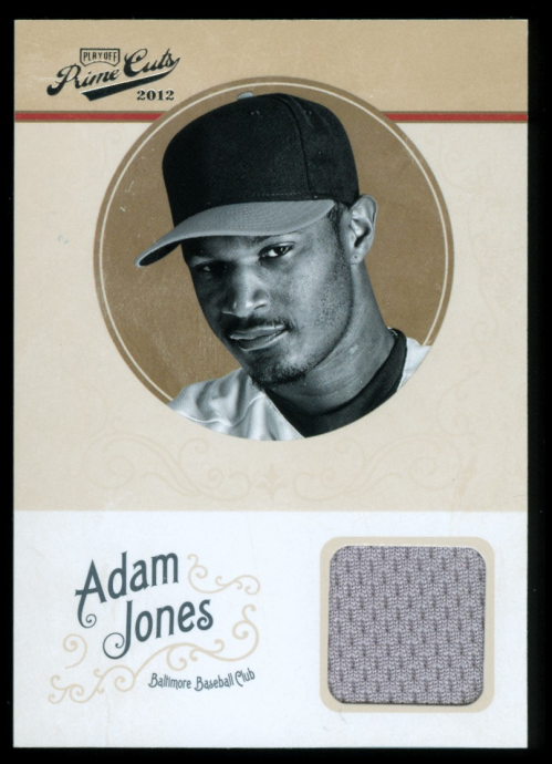 2012 Prime Cuts #1 Adam Jones Jsy/99