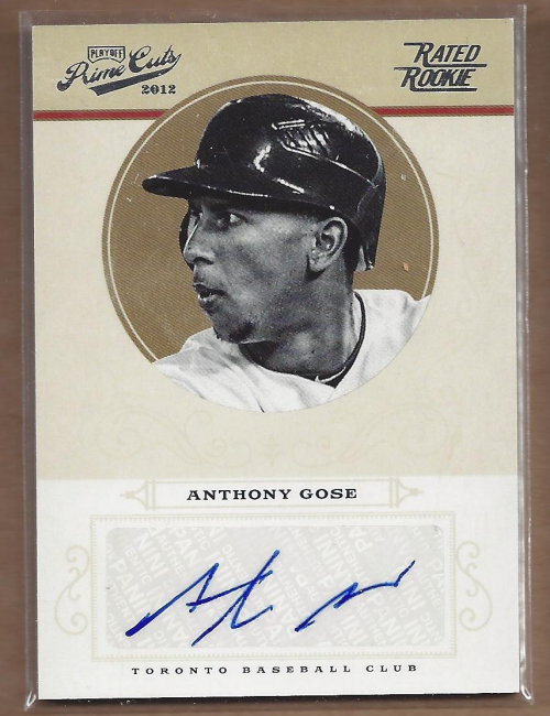 2012 Prime Cuts #54 Anthony Gose AU/199 RC