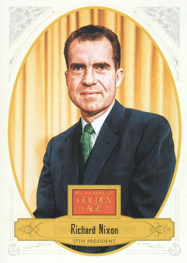 2012 Panini Golden Age #138 Richard Nixon