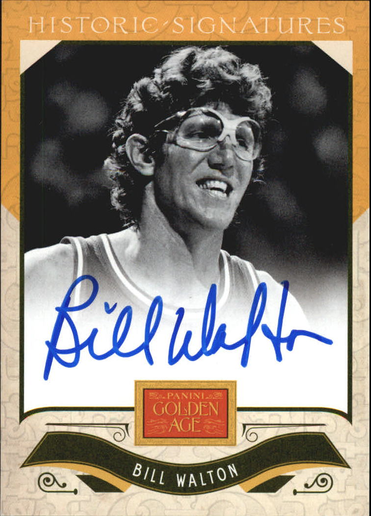 2012 Panini Golden Age Historic Signatures #22 Bill Walton