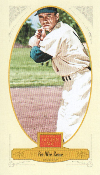 2012 Panini Golden Age Mini Broadleaf Brown Ink #69 Pee Wee Reese