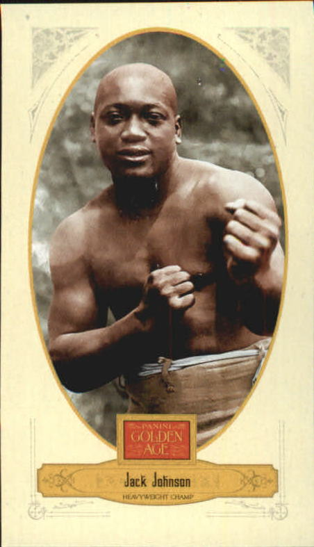 2012 Panini Golden Age Mini Crofts Candy Red Ink #3 Jack Johnson