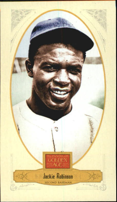 2012 Panini Golden Age Mini Crofts Candy Red Ink #41 Jackie Robinson