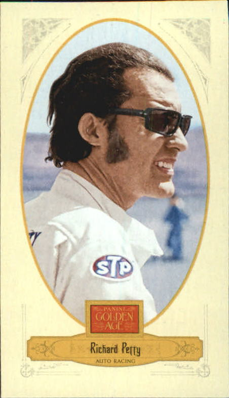 2012 Panini Golden Age Mini Crofts Candy Red Ink #93 Richard Petty