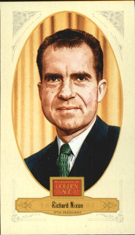 2012 Panini Golden Age Mini Crofts Candy Red Ink #138 Richard Nixon