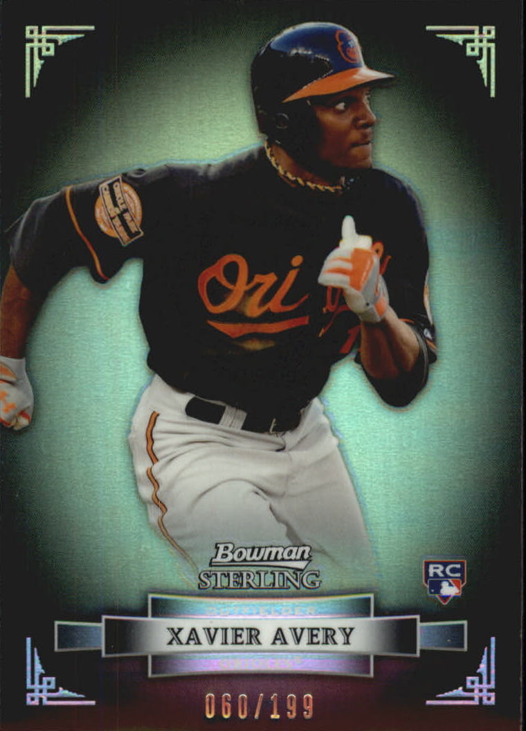 2012 Bowman Sterling Refractors #42 Xavier Avery