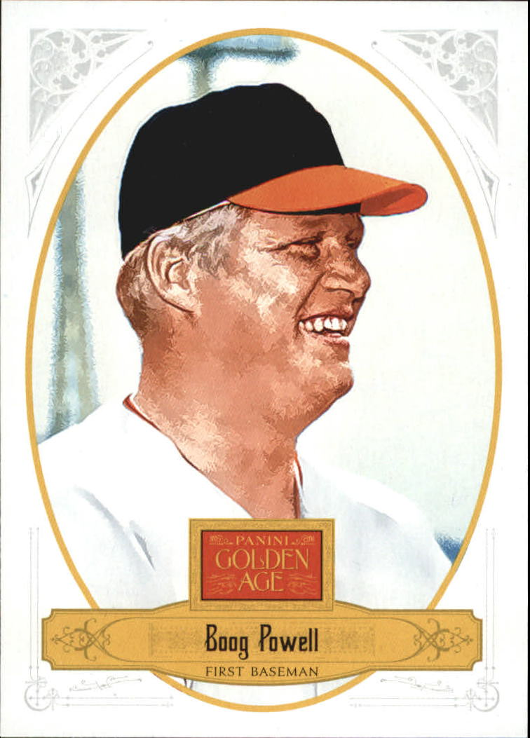2012 Panini Golden Age White Border #135 Boog Powell