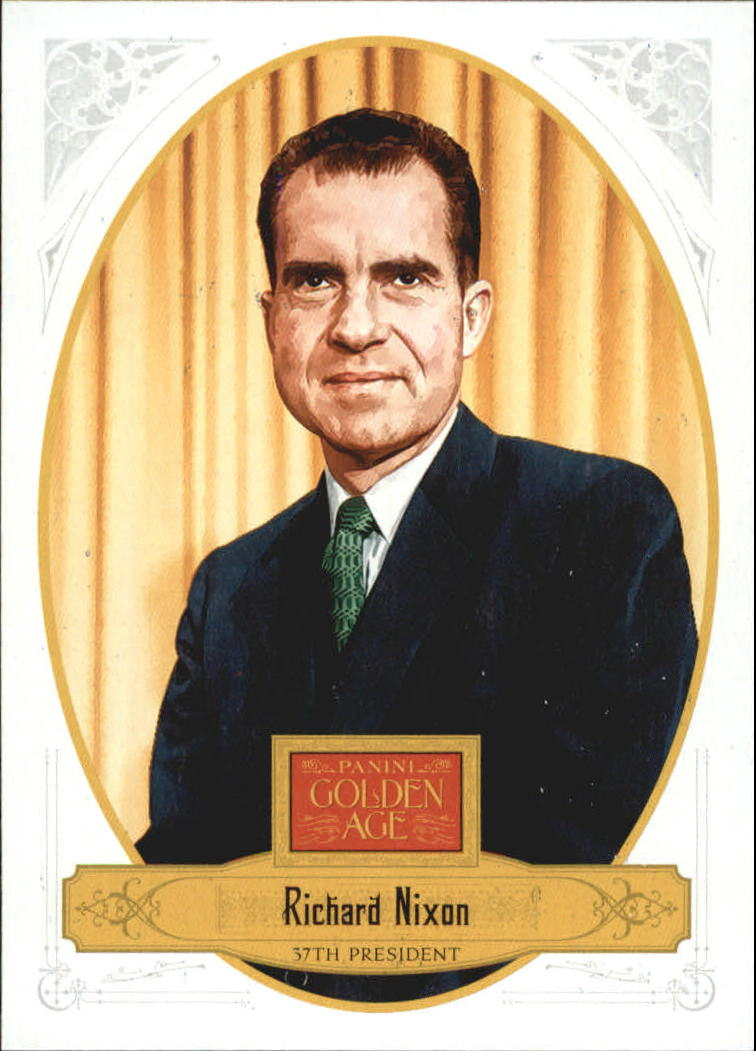 2012 Panini Golden Age White Border #138 Richard Nixon