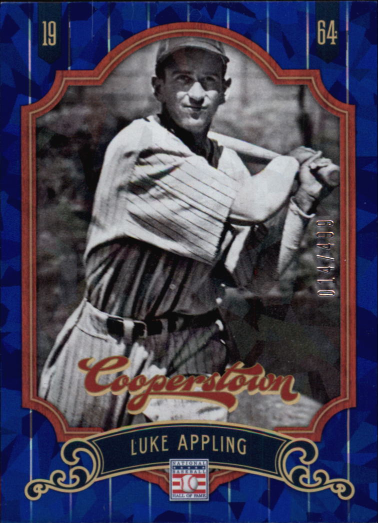 2012 Panini Cooperstown Crystal Collection Blue #74 Luke Appling
