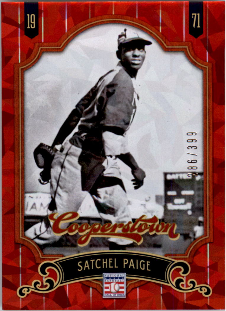 2012 Panini Cooperstown Crystal Collection Red #75 Satchel Paige