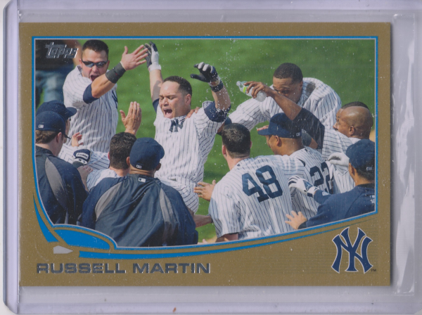2013 Topps Gold #282 Russell Martin