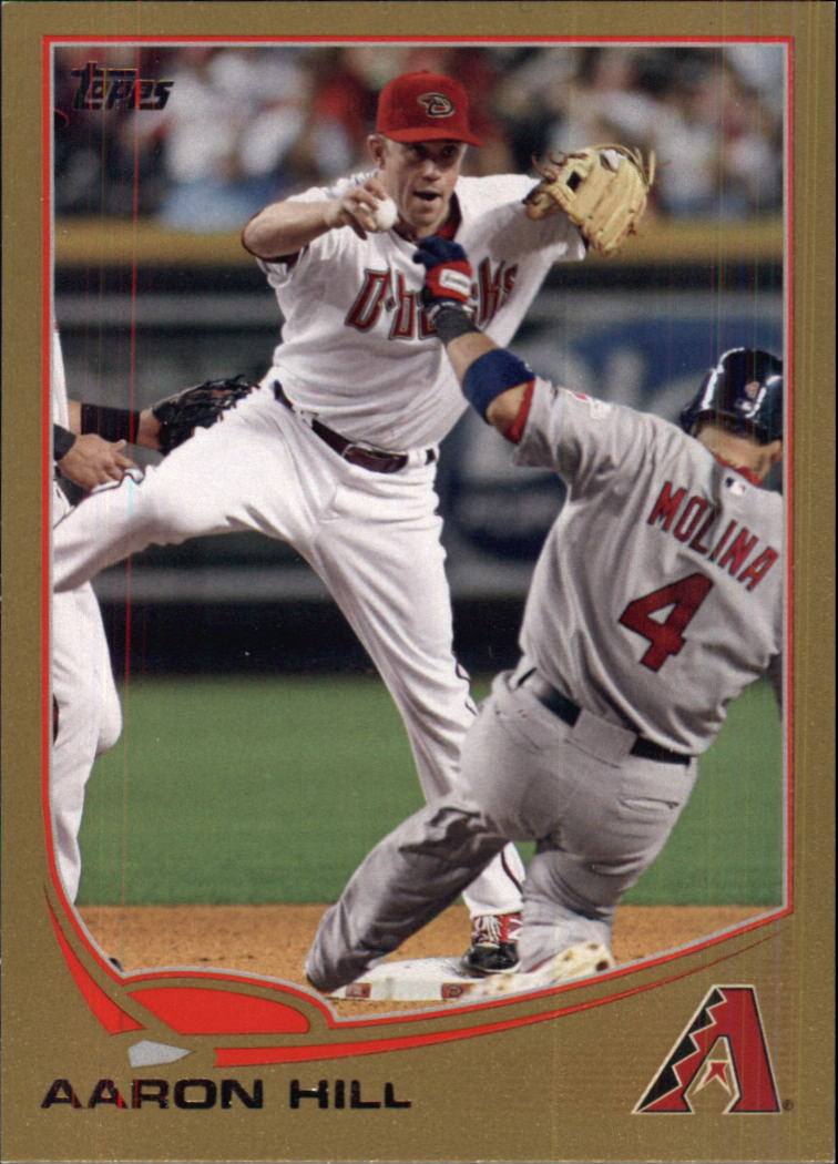2013 Topps Gold #302 Aaron Hill