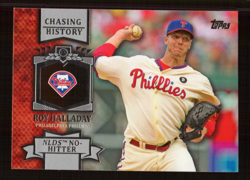 2013 Topps Chasing History #CH1 Roy Halladay