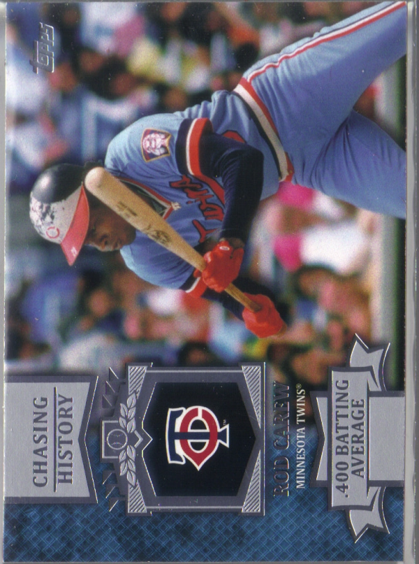 2013 Topps Chasing History #CH6 Rod Carew