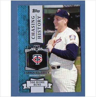 2013 Topps Chasing History #CH19 Harmon Killebrew
