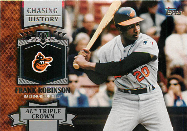 2013 Topps Chasing History #CH21 Frank Robinson