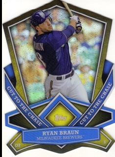2013 Topps Cut To The Chase #CTC8 Ryan Braun