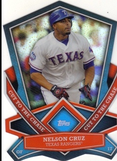 2013 Topps Cut To The Chase #CTC16 Nelson Cruz