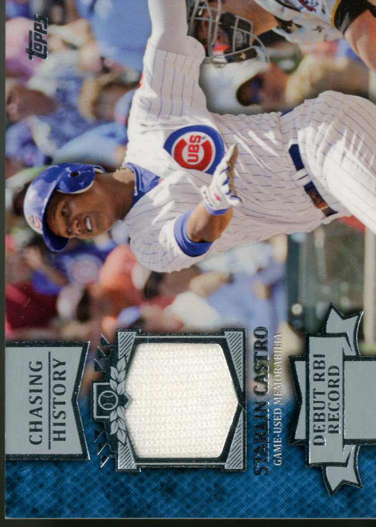 2013 Topps Chasing History Relics #SC Starlin Castro