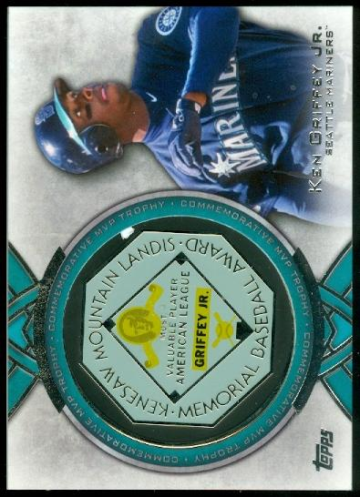 2013 Topps MVP Award Winners Trophy #KG Ken Griffey Jr.