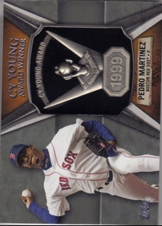 2013 Topps Cy Young Award Winners Trophy #PM2 Pedro Martinez