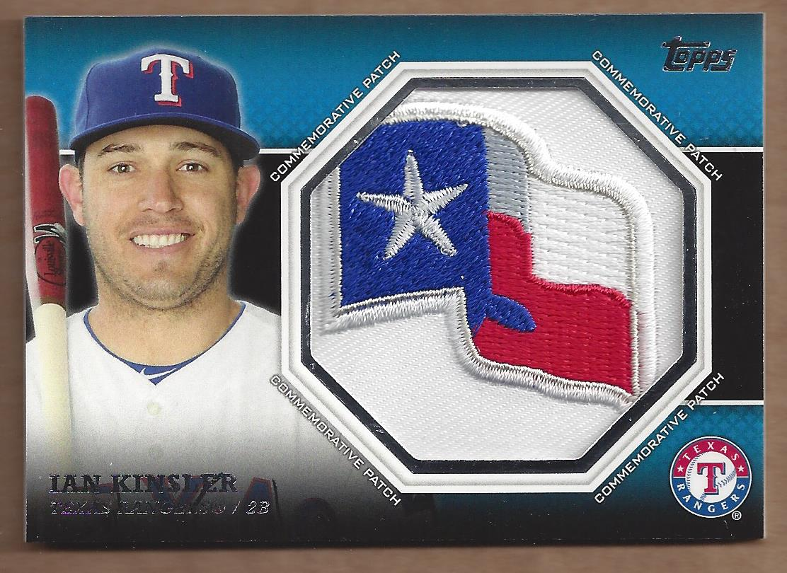 2013 Topps Manufactured Commemorative Patch #CP37 Ian Kinsler