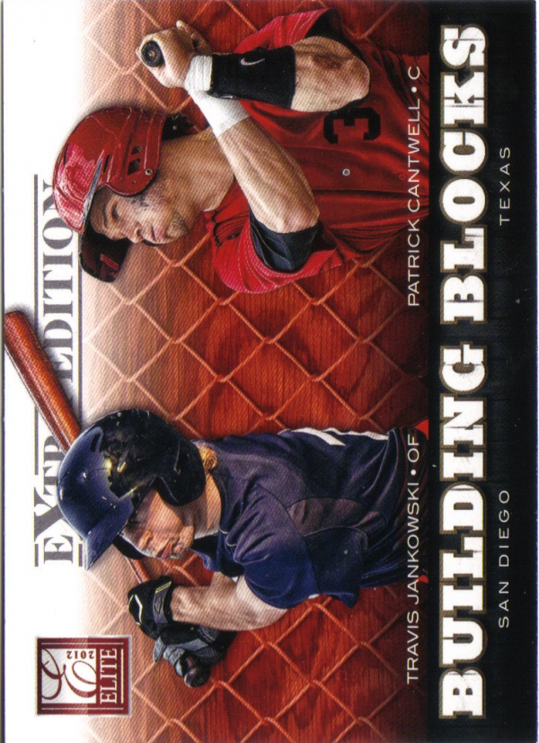 2012 Elite Extra Edition Building Blocks Dual #13 Patrick Cantwell/Travis Jankowski