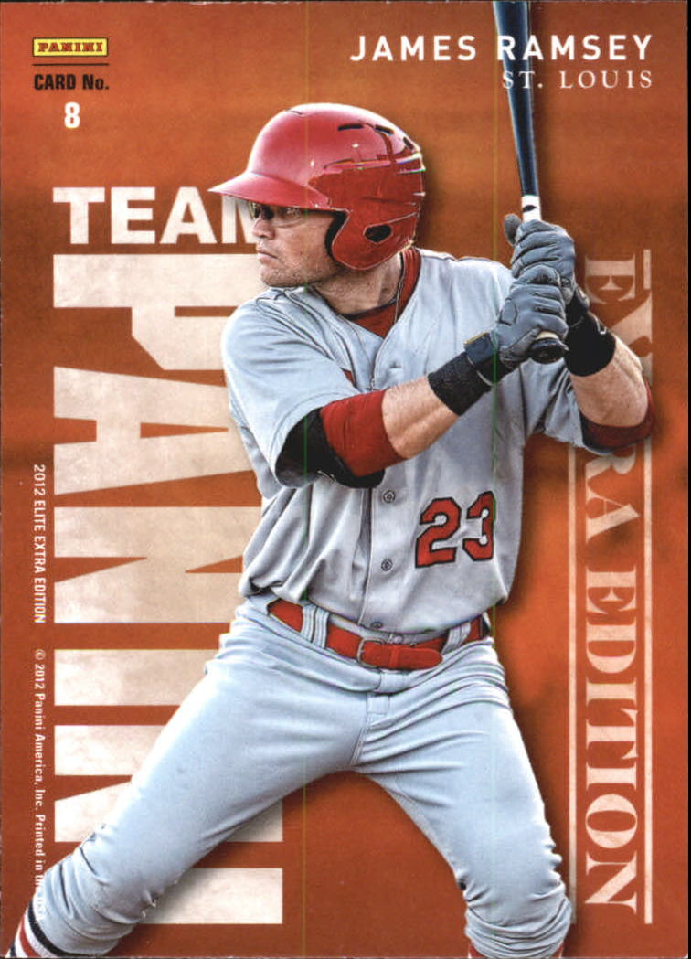 2012 Elite Extra Edition Team Panini #8 James Ramsey/Joey Gallo