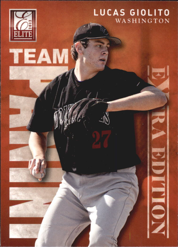 2012 Elite Extra Edition Team Panini #14 Lucas Giolito/Ty Hensley