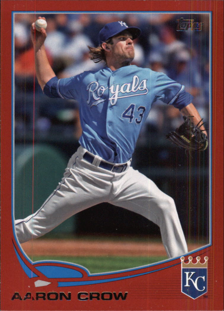 2013 Topps Target Red Border #243 Aaron Crow