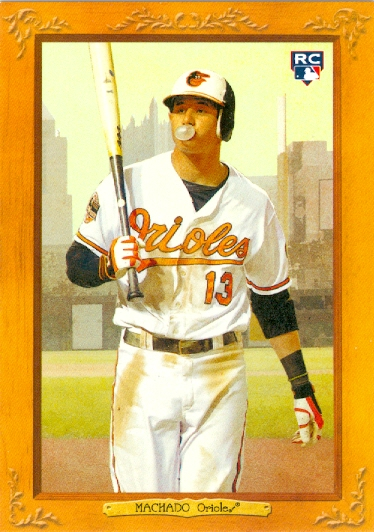 2013 Topps Turkey Red #6 Manny Machado RC