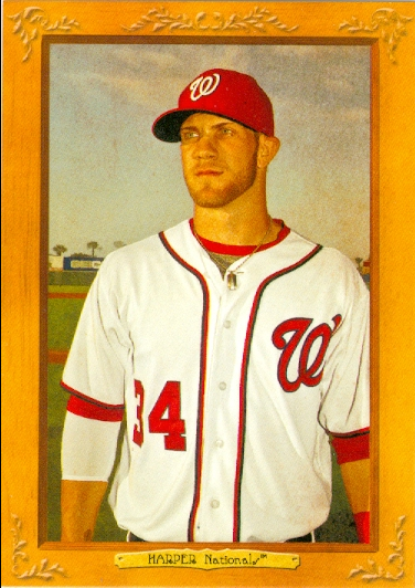 2013 Topps Turkey Red #8 Bryce Harper
