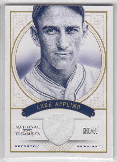 2012 Panini National Treasures #23 Luke Appling/99