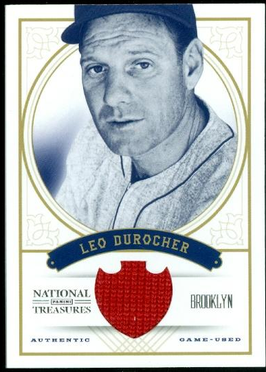 2012 Panini National Treasures #84 Leo Durocher/99