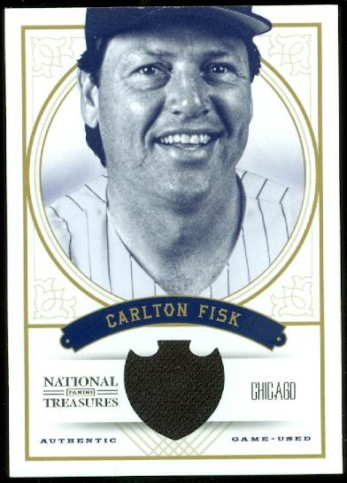 2012 Panini National Treasures #98 Carlton Fisk/99