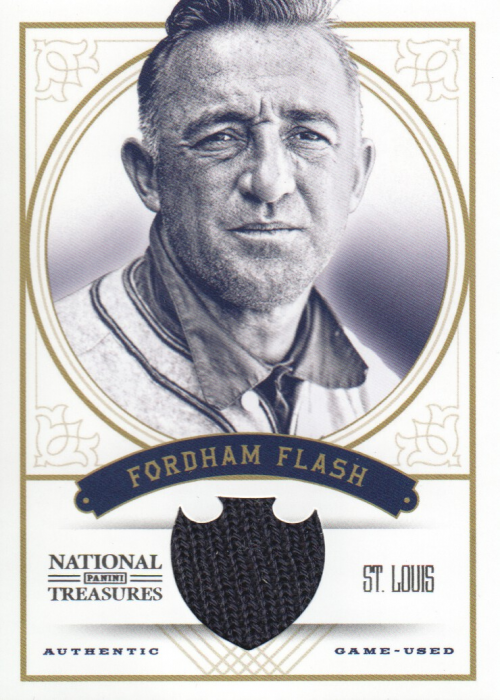 2012 Panini National Treasures Nicknames #8 Frankie Frisch/25