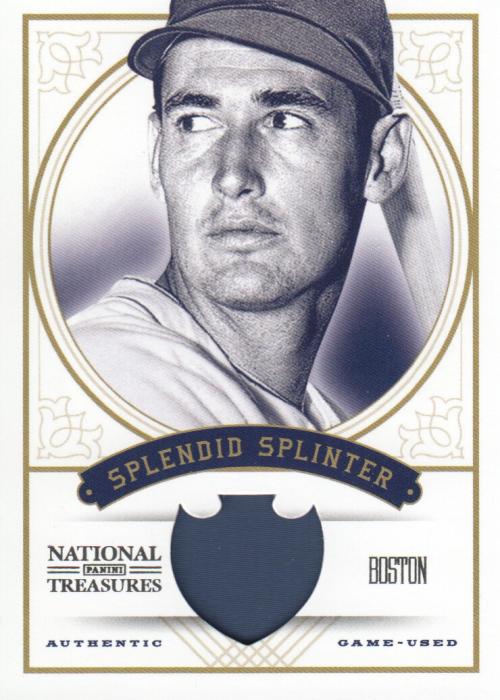 2012 Panini National Treasures Nicknames #26 Ted Williams/99