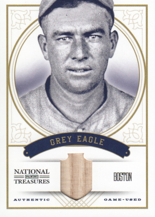 2012 Panini National Treasures Nicknames #45 Tris Speaker/49