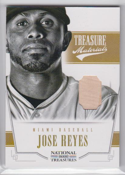 2012 Panini National Treasures Treasure Materials #13 Jose Reyes/99