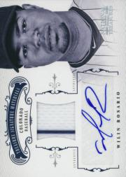 2012 Panini National Treasures Treasure Signature Materials #98 Wilin Rosario/99
