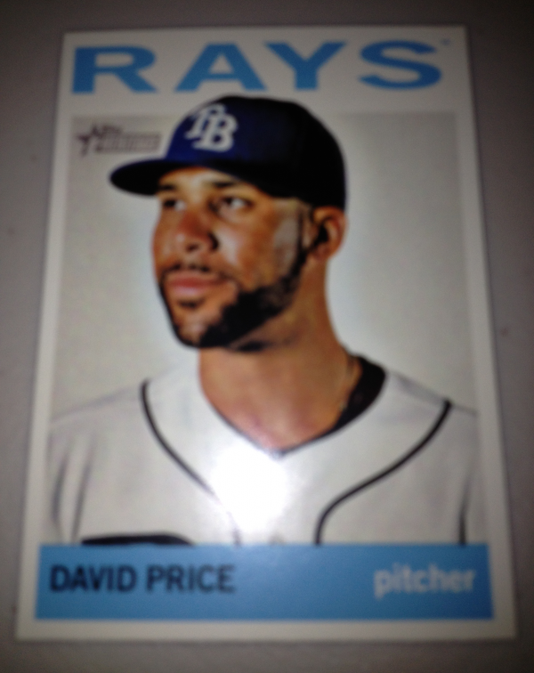 2013 Topps Heritage #458A David Price SP