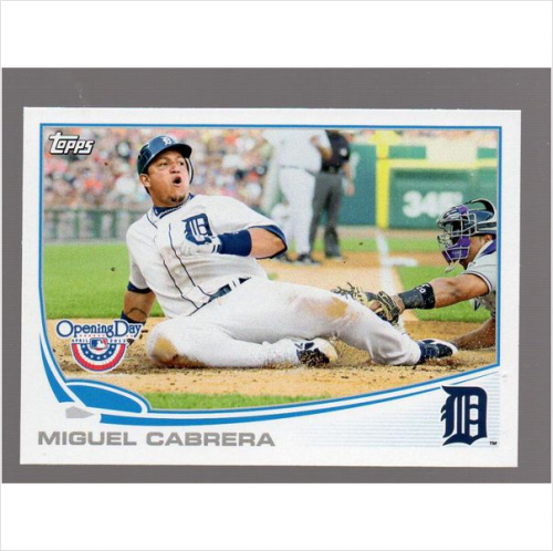 2013 Topps Opening Day #81 Miguel Cabrera