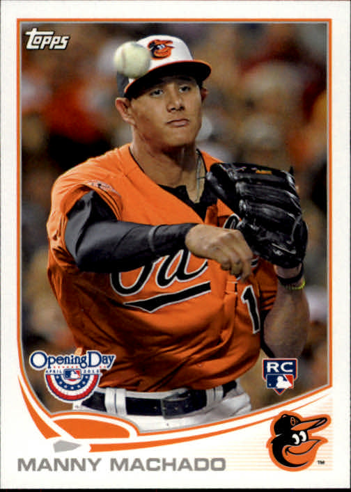 2013 Topps Opening Day #172 Manny Machado RC