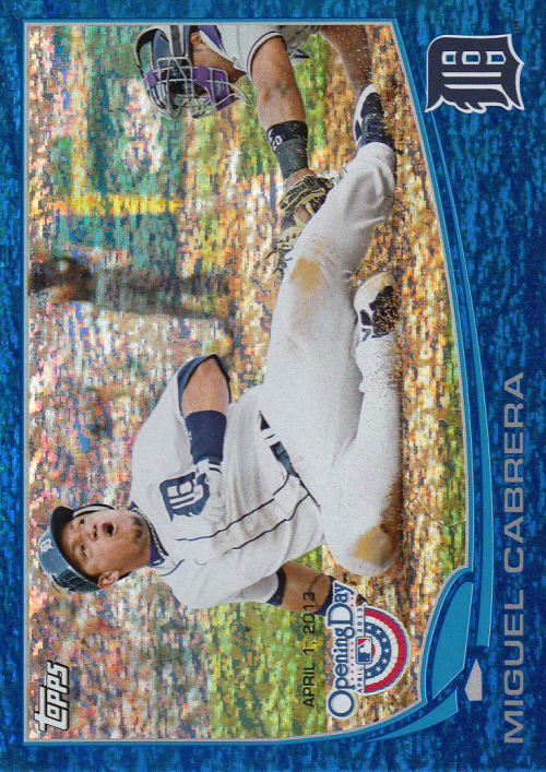 2013 Topps Opening Day Blue #81 Miguel Cabrera