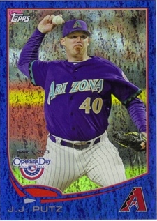 2013 Topps Opening Day Blue #158 J.J. Putz