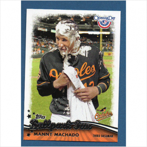 2013 Topps Opening Day Ballpark Fun #BF7 Manny Machado