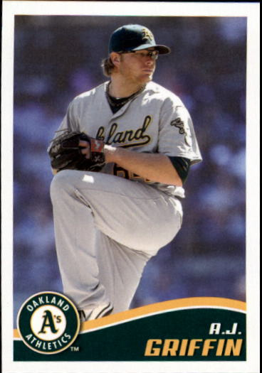 2013 Topps Stickers #114 A.J. Griffin