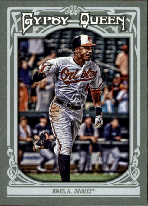2013 Topps Gypsy Queen #1A Adam Jones