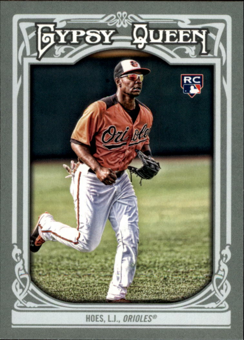 2013 Topps Gypsy Queen #4 L.J. Hoes RC